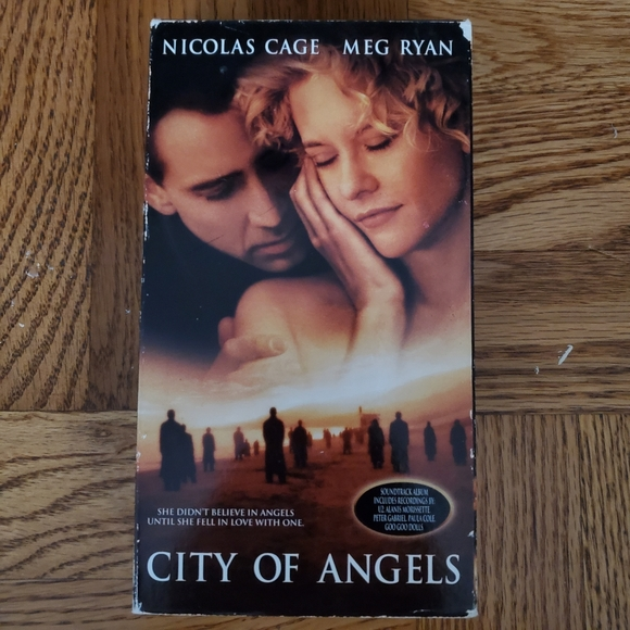 6/$20 City of Angels VHS 1998